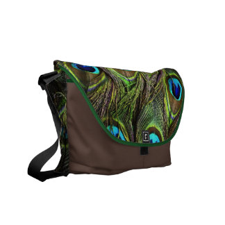 Peacock Messenger Bags