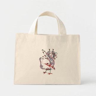 Peacock Mini Tote Bag