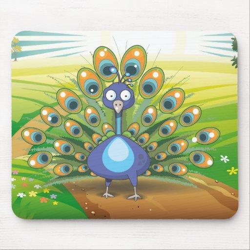 Peacock Mousepads