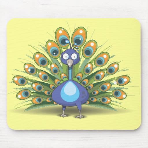 Peacock Mouse Mats