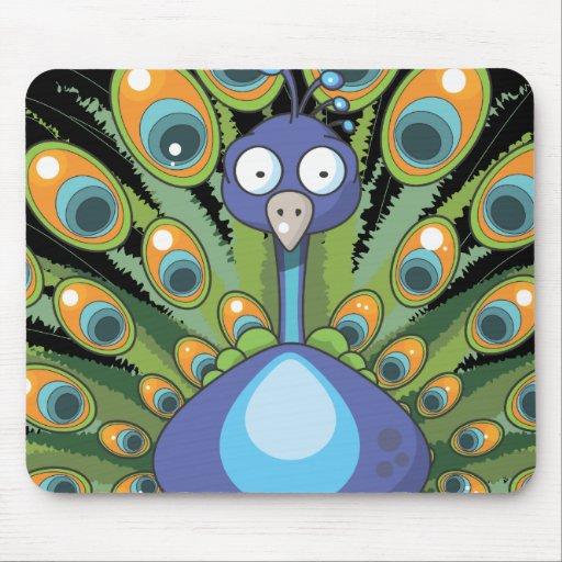 Peacock Mousemat
