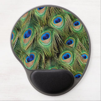 Peacock Mouse Pad Gel Mouse Pad