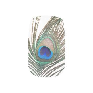 Peacock Nail Designs Minx Nail Art