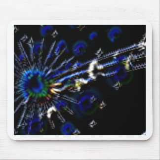 Peacock Note Products Mousepad