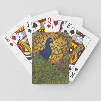 """Peacock of the Night"" Playing Cards"