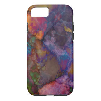 Peacock Ore Chalcopyrite Marble iPhone 7 Case