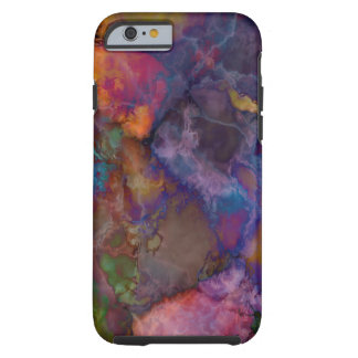Peacock Ore Chalcopyrite Marble Tough iPhone 6 Case