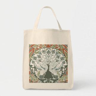 Peacock Organic Tote bag