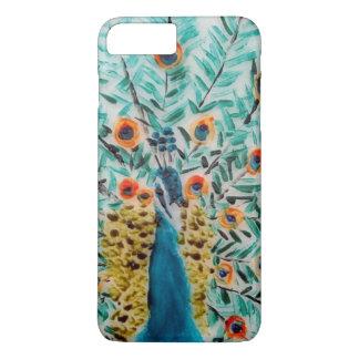 Peacock Peafowl Bird Art iPhone 8 Plus/7 Plus Case