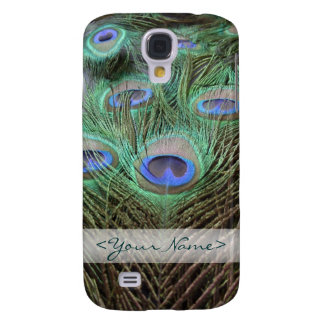 Peacock / Peafowl Feathers Color Photograph Galaxy S4 Case
