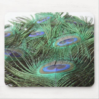 Peacock Perspective Mouse Mat