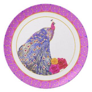 Peacock Plate