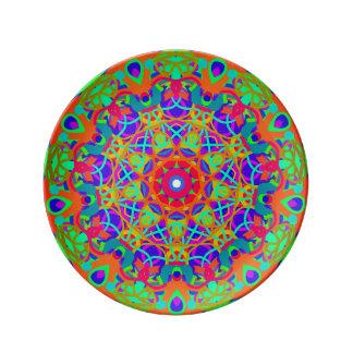 Peacock Porcelain Plate