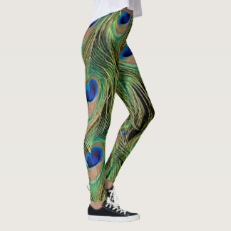 Peacock Print Pattern Legging