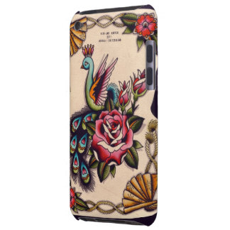 Peacock & Roses iPod Touch Cases