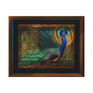 Peacock Royalty 1 Canvas Print