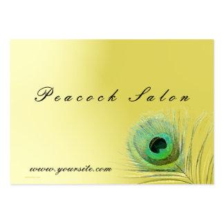 Peacock Salon Business Card