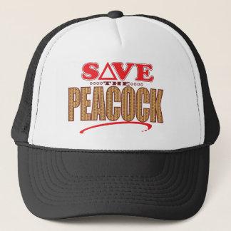 Peacock Save Trucker Hat