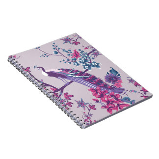Peacock Spiral Note Books