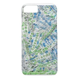 Peacock Splash - Original Abstract Iphone Case
