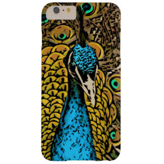 Peacock Splendor Illustration Barely There iPhone 6 Plus Case