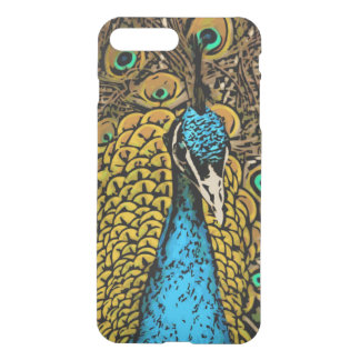 Peacock Splendor Illustration iPhone 8 Plus/7 Plus Case