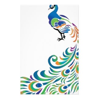 Peacock Stationery Paper