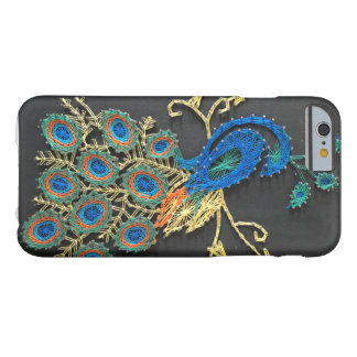 Peacock String Art Barely There iPhone 6 Case