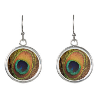 Peacock Strut 4Gwen Earrings