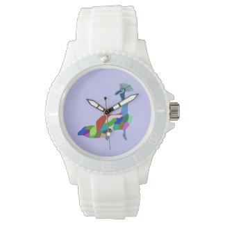 Peacock Strut Watch