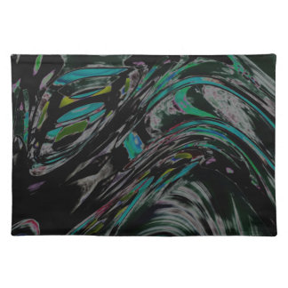 Peacock Swirl Placemat