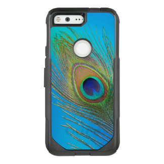 Peacock Tail Feather OtterBox Commuter Google Pixel Case