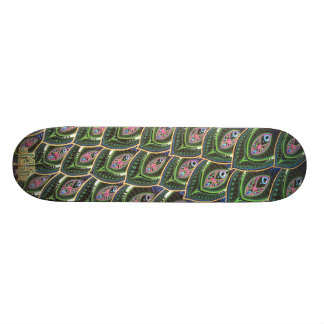 Peacock Tail Skateboards