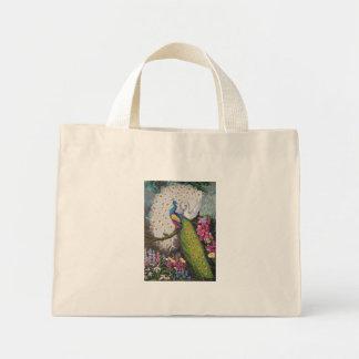 Peacock Tapestry 010110 009 Mini Tote Bag