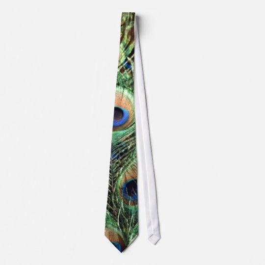 peacock, tie