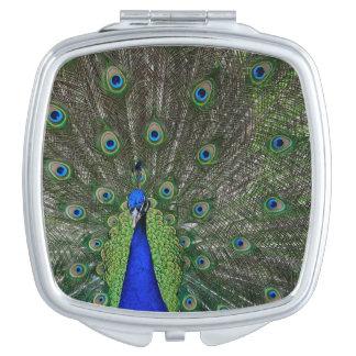 Peacock Travel Mirrors