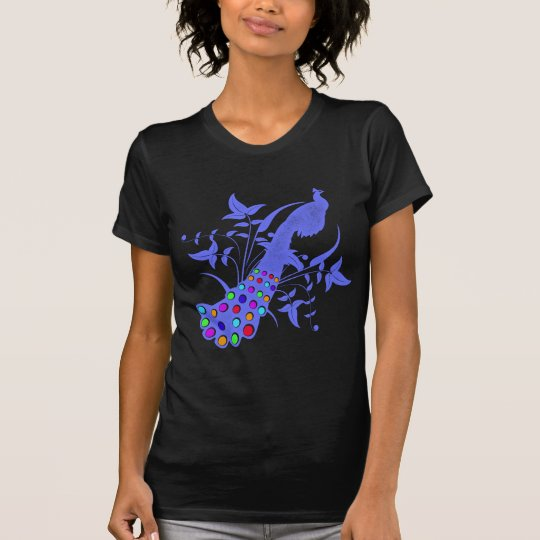 Peacock Vintage Design T-Shirt