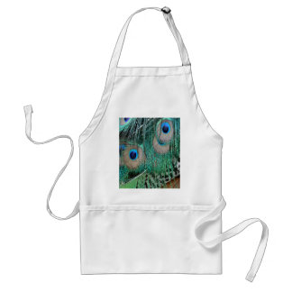 Peacock Wings And Tail Feathers Standard Apron