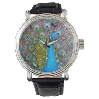 Peacock Wrist Watch