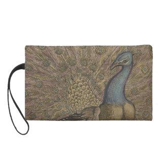 Peacock Wristlet