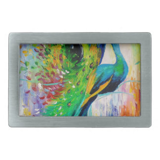 Peacocks Belt Buckle