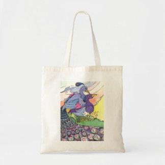 Peacocks Budget Tote Bag