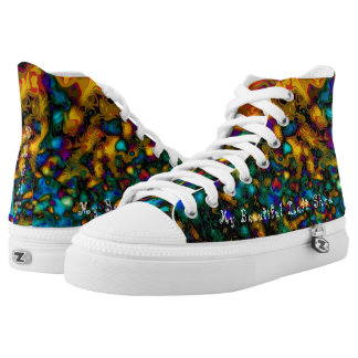 Peacock's Camo High Tops