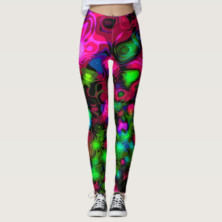 Peacock's Camo Leggings