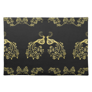 Peacocks in Love Placemats