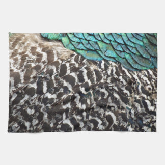 Peafowl Breast Tea Towel
