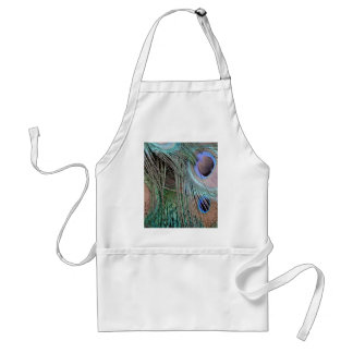 Peafowl Feathers And Eyes Standard Apron