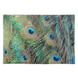 Peafowl Feathers True Colors New Growth Placemat