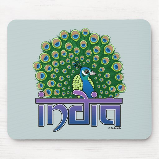 Peafowl of India Mouse Pad