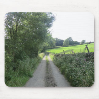 Peak District Country Lane Mouse Pad